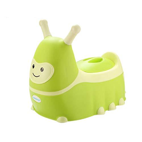 Toilette pour bébé, Enfants de Sexe Masculin et féminin, Toilette, Surface Lisse pour Toilette de bébé, chanfrein simplifié, Facile à Nettoyer (Couleur : Green)