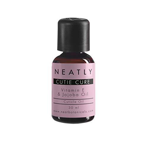 Cuticole remover by Neatly Cutie Care | Spray per cuticole naturale con olio di jojoba 30 ml | Alternativa a olio per cuticole e forbicine pellicine