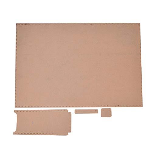 Zipper Wallet Handtasche Making Stencil Klare Acryl Making Schablone, für DIY Leder Craft Wallet Acryl Schablone
