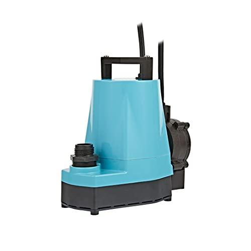 Little Giant 5-ASP-LL 505350 1/6 HP Automatic Hydroponic Utility Pump, 1200 GPH