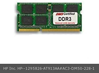 DMS Compatible/Replacement for HP Inc. AT913AA#AC3 Pavilion dv6-3102et 4GB DMS Certified Memory 204 Pin DDR3-1333 PC3-10600 512x64 CL9 1.5V SODIMM - DMS