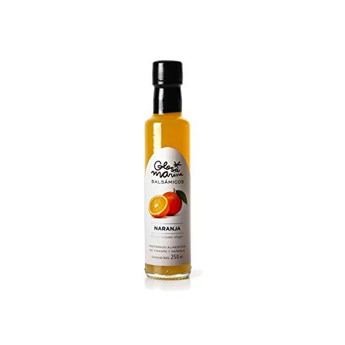 GLOSA MARINA Crema Balsámica de Naranja - Balsamico Gourmet Essig Creme Orange (1 x 250ml)