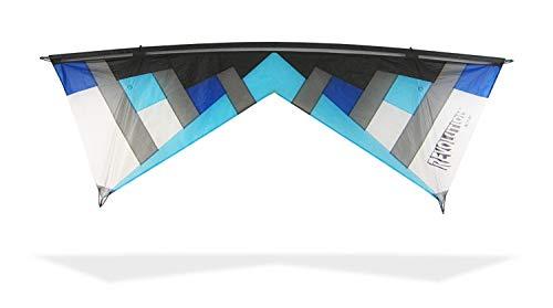 Revolution Kites Lenkdrachen New York Minute Standard, NYM 4, Light Blue/Dark Blue/Black