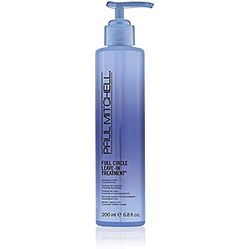 Paul Mitchell Full Circle Leave-In Treatment - Haar-Kur für Locken und welliges Haar, feuchtigkeitsspendende Haarcreme mit Anti-Frizz Effekt - 200 ml