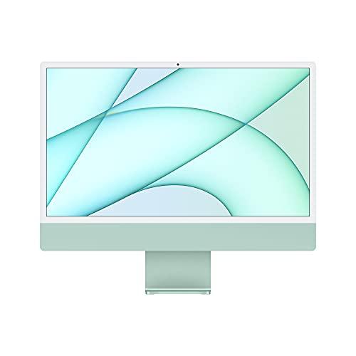 2021 Apple iMac (24インチPro, 8コアCPUと8コアGPUを搭載したApple M1チップ, 8GB RAM, 256GB) - グリーン
