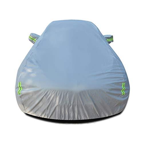 Autoabdeckung Kompatibel mit Chevrolet Bel Air Wagon Vier Jahreszeiten universal Oxford Tuch reißfest wasserdicht Schnebeweises Flammschutzmittel Winter Vereisung Anti-UV