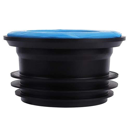 Garosa WC-Gummiring Geruchssicherer Gummidichtring Abflussrohr Dichtring Universal-WC-Abfluss Geruchsbeständiger Flansch Haltbare Schüssel Dichtung Elastische Badarmatur Zubehör für Reparatursätze