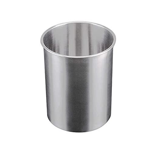 Cubo de hielo con pinzas para hielo 2.5L Cubo de hielo de acero inoxidable de gran capacidad Enfriador de champán Enfriador de botellas de vino para bar Cocina Hogar