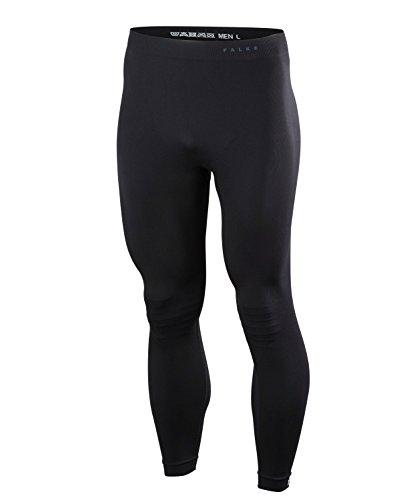 FALKE Herren Tights Warm Long, Sport Performance Material, 1 Stück, Schwarz (Black 3000), Größe: XL