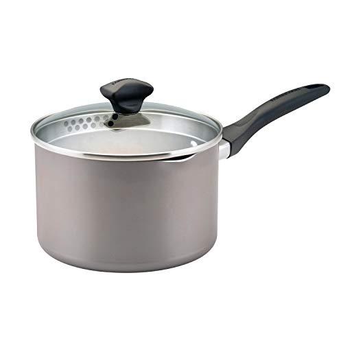 Saucepan with Straining Lid