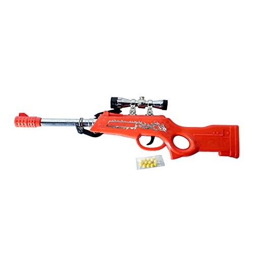Glan Shooting Gun Toy with Soft Foam Mini Balls for Outdoor Game Toy for Children Kid Boys