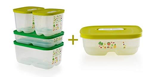 Tupperware - Set di 4 contenitori per frigo 5 Piece