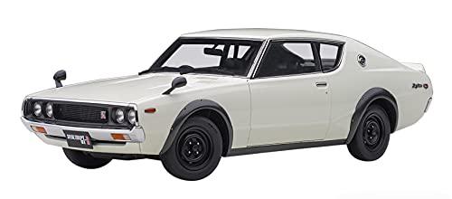 AUTOart 1/18 ニッサン スカイライン 2000 GT-R (KPGC110) ホワイト 完成品 77472