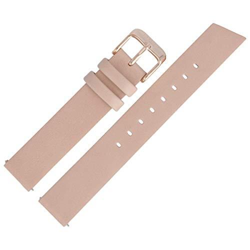 Liebeskind Berlin Uhrenarmband 16mm Leder Beige Glatt - B_LT-0183-LQ