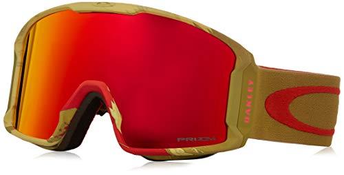 Oakley Line Miner Gafas deportivas, S Carlson Sig Razor Camo Red, 000 Unisex