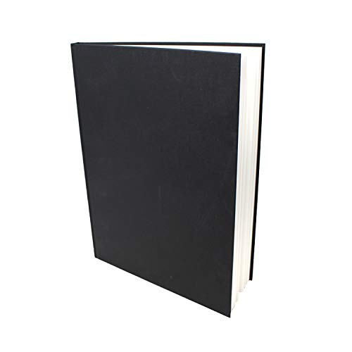 Artway Studio - Skizzenbuch mit festem Einband - säurefreies Papier - Hardcover - Hochformat - 46 Blatt mit 170 g/m² - A4 Hochformat - 297 x 210 mm