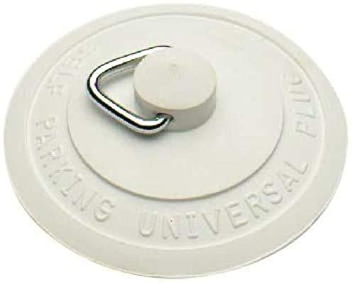 Bulk Hardware BH00004 Selbst platzierender Universal-Gummistöpsel für Waschbecken/Badewanne