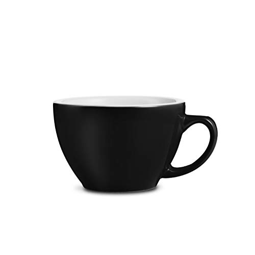 LOVERAMICS Egg Style Cappuccino Cup and Saucer