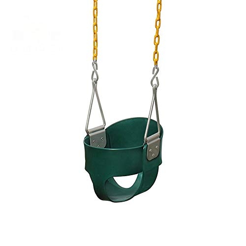Buy WLGC Swing, Sturdy Baby Seat Swing Indoor and Outdoor Baby Baby Child All-Inclusive Watermelon H...