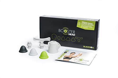 Blackroll Booster Head & Booster Head Box – trillingsmassage dankzij trilkern. Incl. massageopzetstukken.