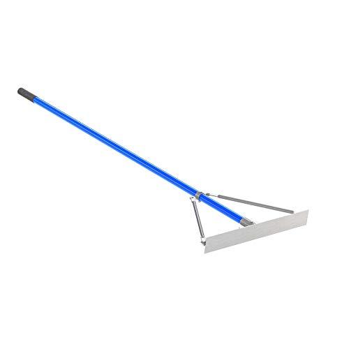 Bon Tool 22-240 24-Inch Smooth Asphalt Lute Rake with 6-Foot Handle