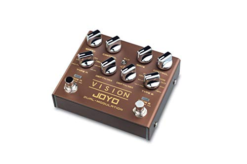 JOYO Vision Dual Channel Stereo Multi Modulation Guitar Effect Pedal