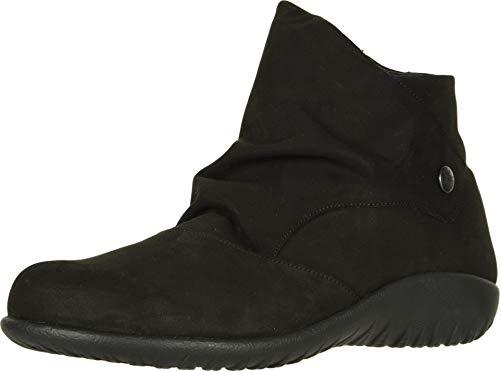 NAOT Footwear Women's Kahika Black Velvet Nubuck Boot 9 M US