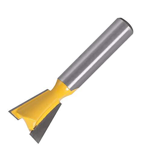 AGiao Stabil und langlebig im Gebrauch. 5pcs 8mm Schaft Schwalbenschwanz Fräser Set 14 Grad Holzbearbeitung Graviermaschine Bit-Fräser for Holz Einfach zu tragen und zu speichern. (Color : 5PCS)