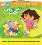 Adventures to Go!: Dora: Dora's Fairy-Tale Adventure/Dora's Pirate Adventure/Dance to the Rescue/The Backyardigans: Race to the Tower of (Nick Jr. Carry-along Boxed Set)