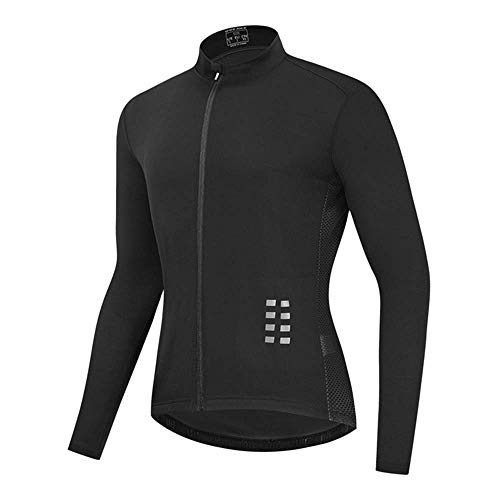 BEYONDTIME Autumn Mountain Bike Cycling Clothes Moisture Wicking Breathable Cycling Clothes Tops Suitable for Sports Fitness and Cycling B-XX-Large