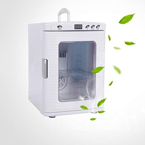 TYUIO Mini Refrigerator Cool and Warm Electric Cool Box, Dual Voltage Car Refrigerator for Car and Home with 25L Portable Cool Box for Travel and Camping