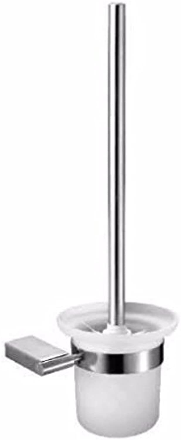 Lx.AZ.Kx Toilet Brush and Holder with long handle for Bathroom Toilet Toilet Cleaning Supplies?Flat Base? 304Toilet?Toilet Brush