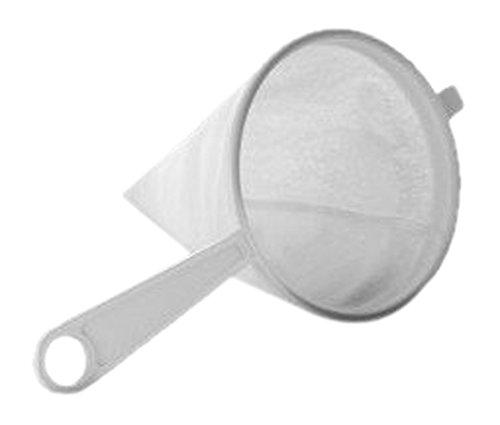 IBILI Sieb 10 cm aus Flanell/Kunststoff, weiß, 10 x 10 x 10 cm