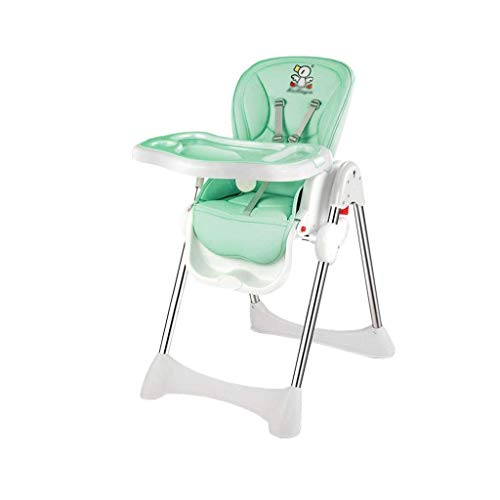 N/Z Living Equipment Adjustable Foldable Baby Highchair Dining Chair Portable Movable