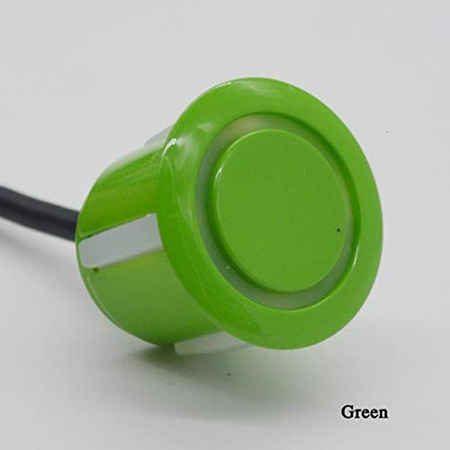 New Green : QXNY 8 sensors Car Parking Sensor Automobile Reversing Radar Parking car Detector Parkin...