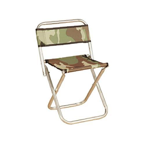 Tragbare Metall Fischen-Stuhl Ausklappbarer Fish Chair Multi Usage Sportveranstaltungen Lehrstuhl Für Outdoor-Tarnfarbe
