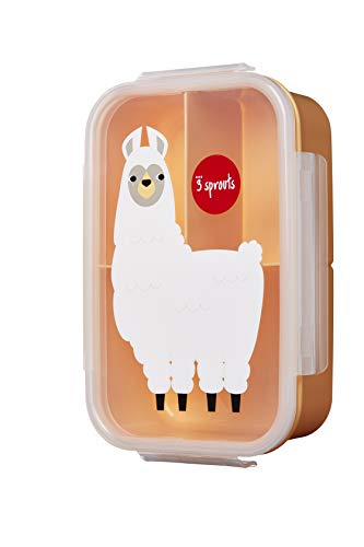 Bento Box Lhama, 3Sprouts, Bege