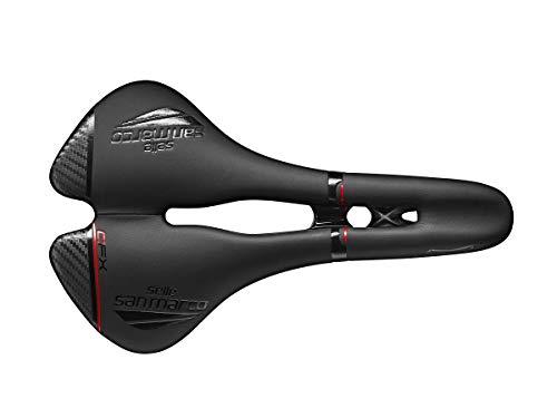 Selle San Marco ASPIDE, Sellini per Biciclette Unisex, Black/Black, L2