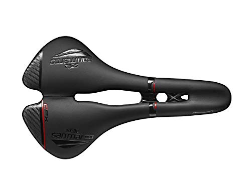 Selle San Marco - Sillín ASPIDE Open-Fit Carbon FX Wide