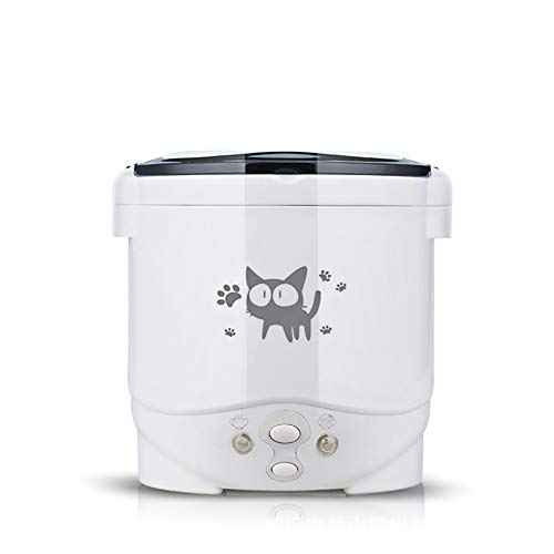F-JX 1L Electric Mini Rice Cooker Multifunctional Portable Cookers Used In House 220V Or Car 12V Truck 24V Used as Lunch Box,24V