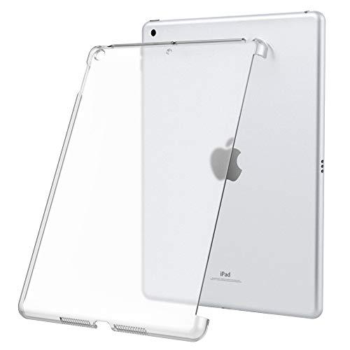 Dadanism Kompatibel für New iPad 10.2 2019, iPad 7th Generation Hülle, Translucent Hart Schutzhülle Polycarbonate Schale Ultra Slim Case Cover Ersatz für New iPad 10.2 inch 2019 - Transparent