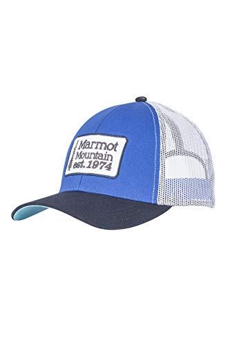 Marmot Men's Retro Trucker Hat, True Blue, One Size