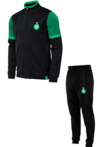 AS Saint Etienne trainingspak, jas + broek, officiële collectie, kindermaat, jongens