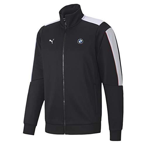 Formula 1 BMW Motorsport Men's T7 Track Jacket, Puma Black, L