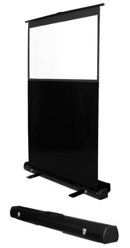 MULTIBRACKETS Leinwand transportabel 16:9,90 Z,200x112cm,Diagonale 229cm, Weiss Rahmen schwarz,leicht aufstellbar, Gain:1,0