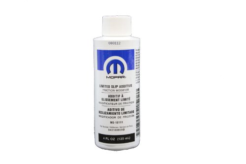 Genuine Mopar Fluid 4318060AC Limited Slip Additive - 4 oz. Bottle