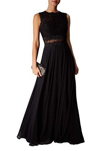 Mascara schwarz mc181315 Mock Spitzen Kleid