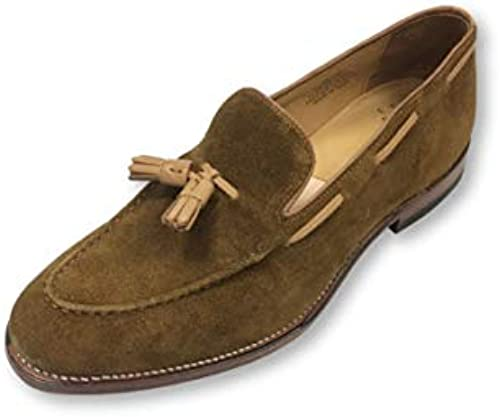 G.H. Bass & Co Tassel Loafers in tan Suede - 10