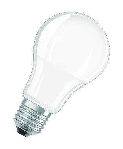 OSRAM Lot de 10 Ampoules LED   Culot E27   Blanc froid   4000 K   5,50 W équivalent 40 W   dépolie   LED STAR   Forme Standard