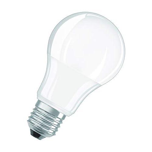 Osram, Lampadine LED Goccia, 10W Equivalenti 75W, Attacco E27, Luce Calda 2700K, Confezione da 4